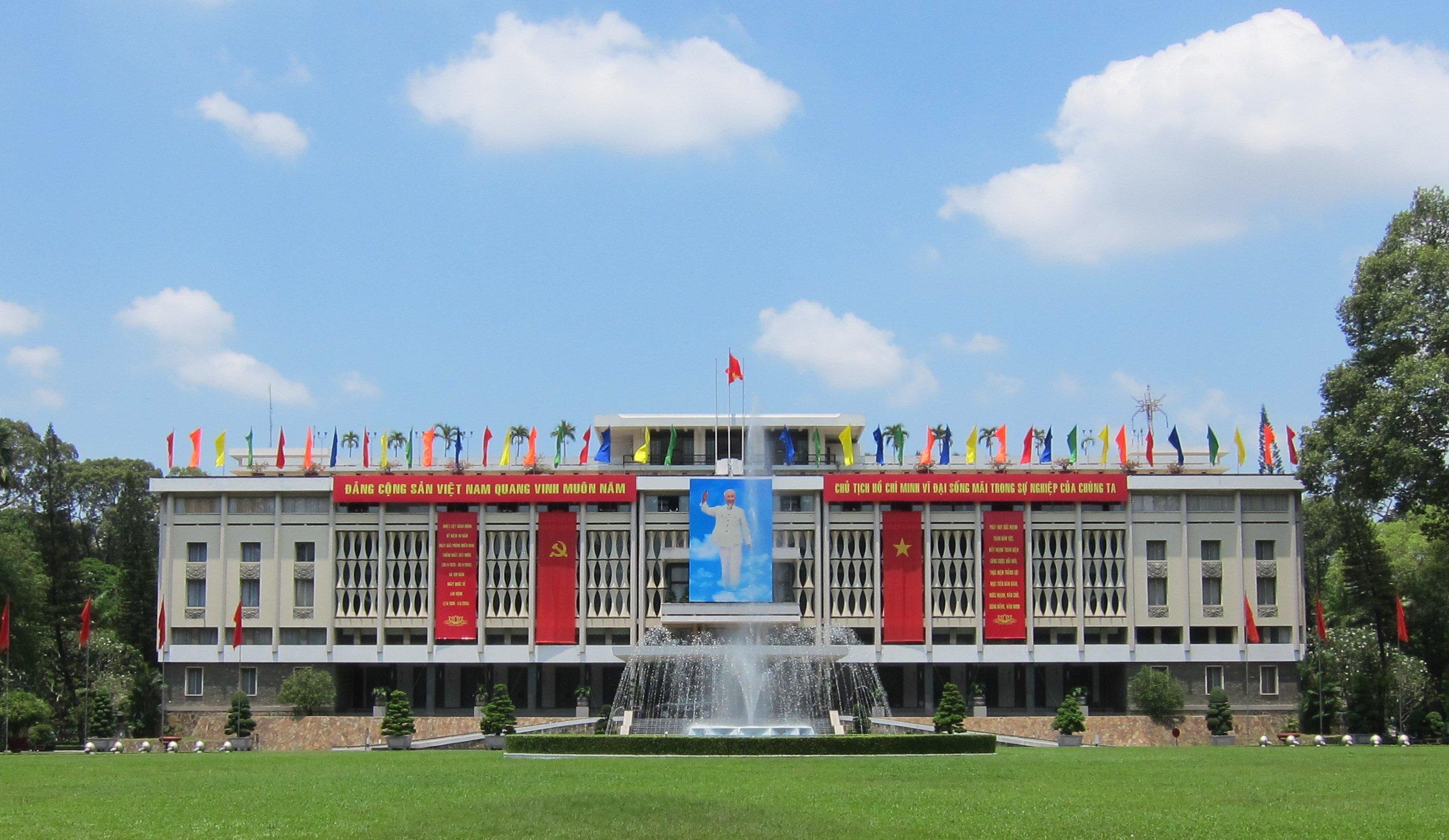 Wiedervereinigungspalast in Ho Chi Minh Stadt. Foto: Exbir Travel