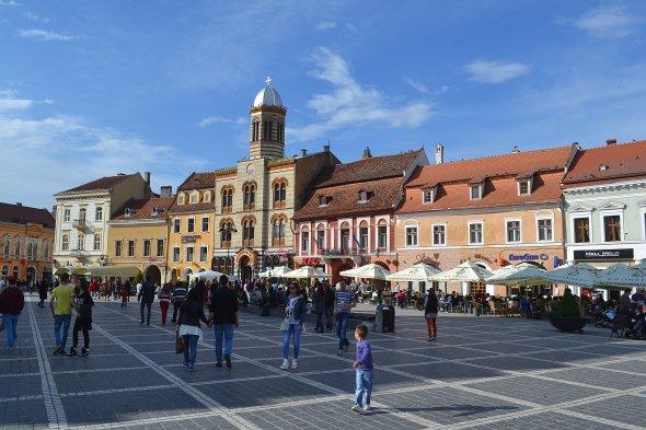 Impressionen von Brasov, Rumänien