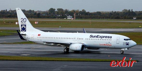 Sun Express.  Foto: Christian Maskos
