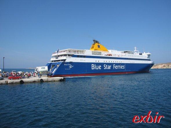 Blue Star Ferry. Foto: FlyWolf