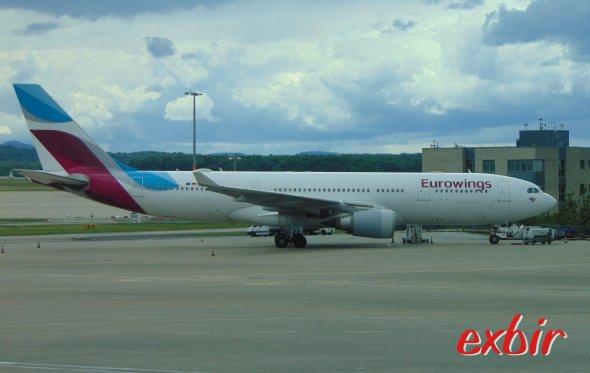 Eurowings Flieger