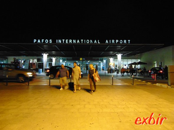 Paphos airport:  Foto: Christian Maskos