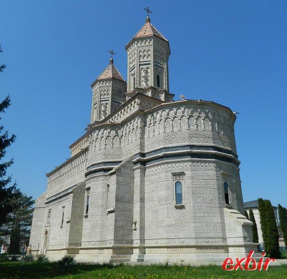 Eine typische Kirche im Landesteil Moldova  - hier im ZEntrum Iasi´s.  Foto: Christian Maskos