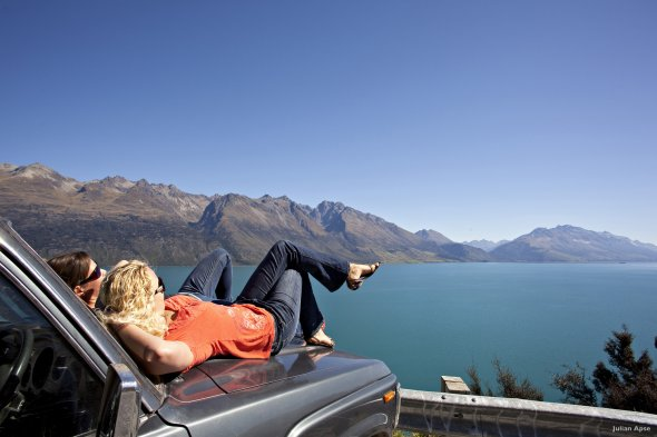 Lake Wakatipu - Queenstown Neuseeland