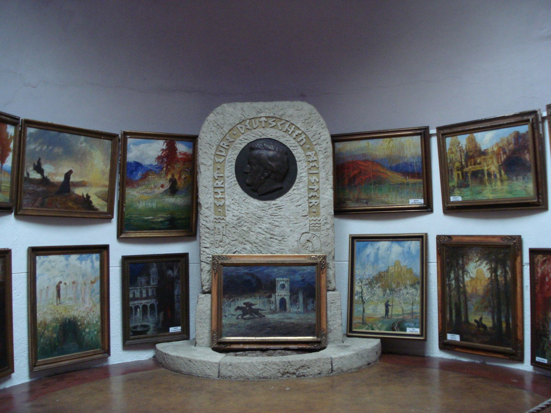Nibelungenhalle Wagner Altar Bildquelle: unbekannt
