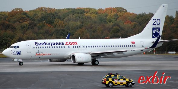 Billige Inlandsflüge ab Antalya und Izir mit Sun Express buchen  Foto: Christian Maskos