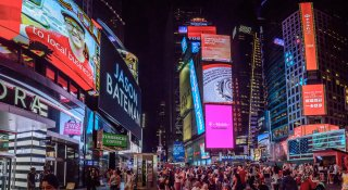 Times Square Panorama, New York, USA
