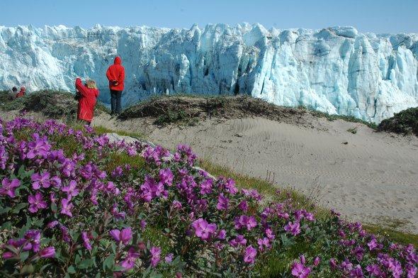 Kangerlussuaq im Sommer. Urheber: Greenland Travel, creative commons