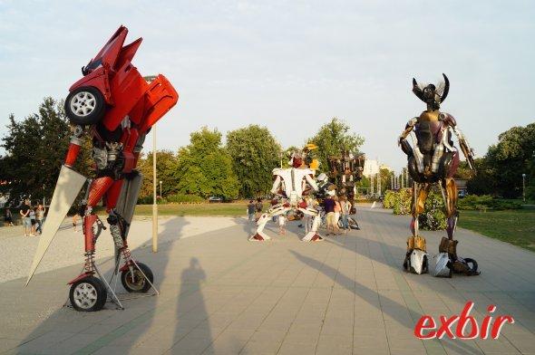 Transformer-Ausstellung in Osijek.  Foto: Christian Maskos