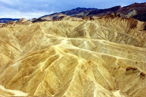Zabriskie Point, Death Valley, USA