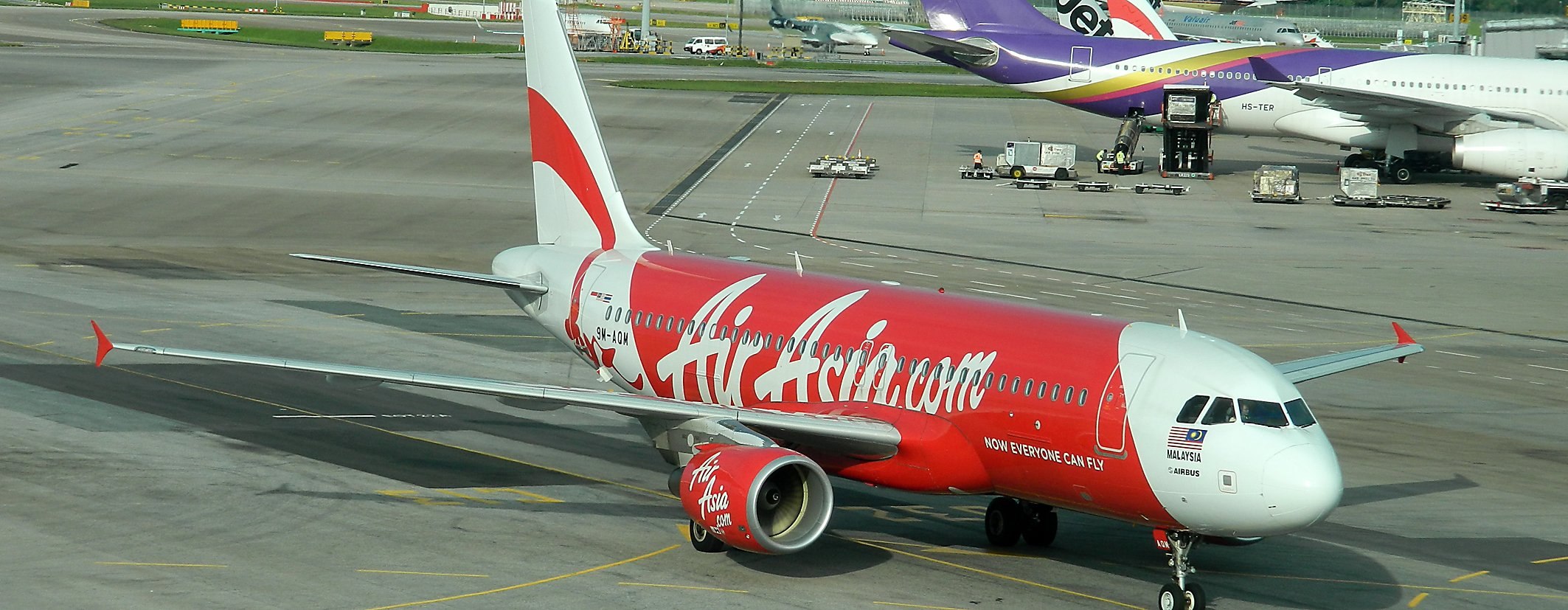 Air Asia Flieger. Foto: Exbir Travel, C. Maskos