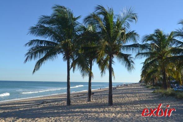 Floridas Traumstrände, hier in Ft. Lauderdale. Foto:Maskos
