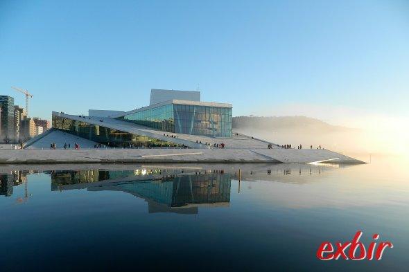 Das Opernhaus von von Oslo.  Foto: Christian Maskos