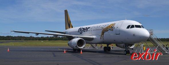 Weltreise mit dem Billigflieger:  Tiger Air bietet günstige Inlandsflüge in Australien an.  Foto: Christian Maskos