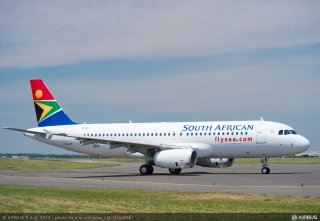 SAA new Airbus A320