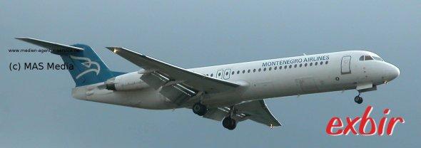 Montenegro Airlines fliegt von Frankfurt, Wien und Zürich zu hohen Preisen nach Podgorica.  Foto: Christian Maskos