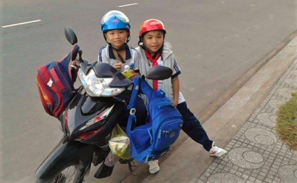 Bild 4, Die Jugend von Cần Thơ begrüßt den Fremdling sehr herzlich, Vietnam