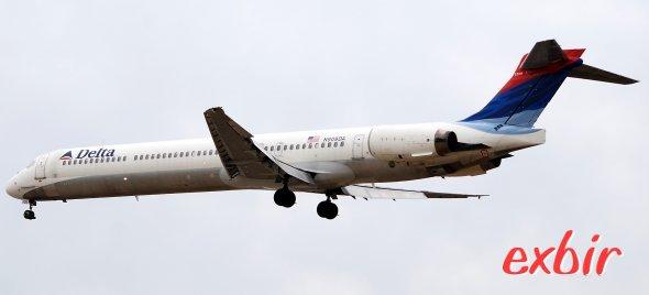 Mit Delta Airlines nach Südamerika.  Foto: Christian Maskos