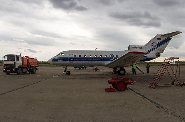 Die YAK 40 von Vologda Air Enterprise.  Foto: Bernd Karlik