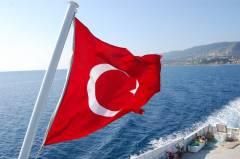 Türkische Fahne. Foto: Christian Maskos