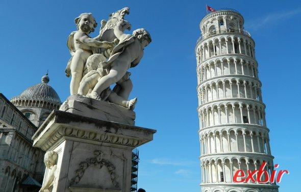 Der schiefe Turm von Pisa. Foto: Exbir Travel, C. Maskos