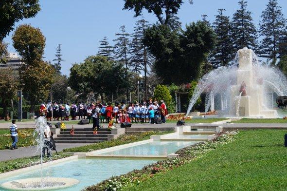 Der Parque de la Reserva in Lima.