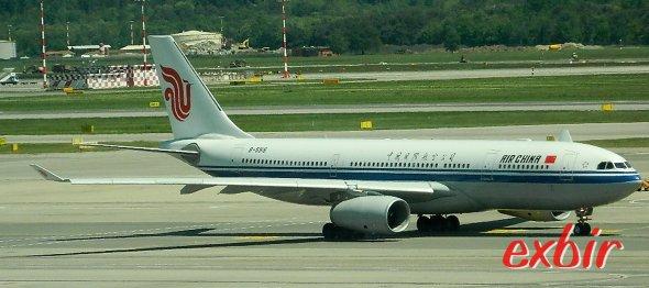 Gratis Übernachtung bei flugplanbedingten Aufenthalten über Nacht mit Air China in Peking.  Foto: Christian Maskos