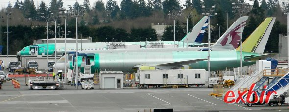 Zu Besuch bei Boeing in Everett. Foto: Christian Maskos