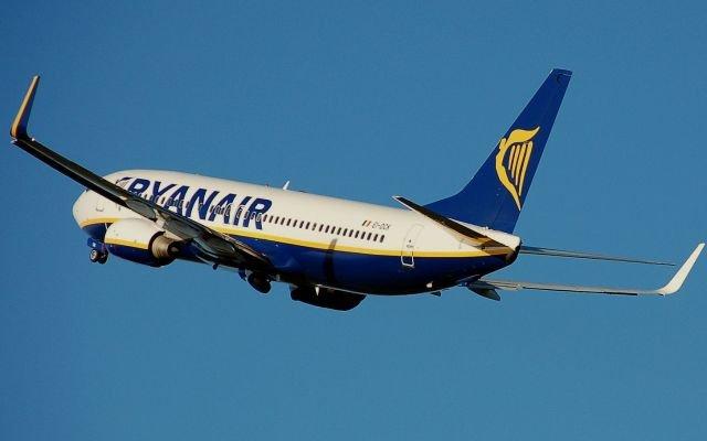 Eine Boeing 737-800 von Ryanair