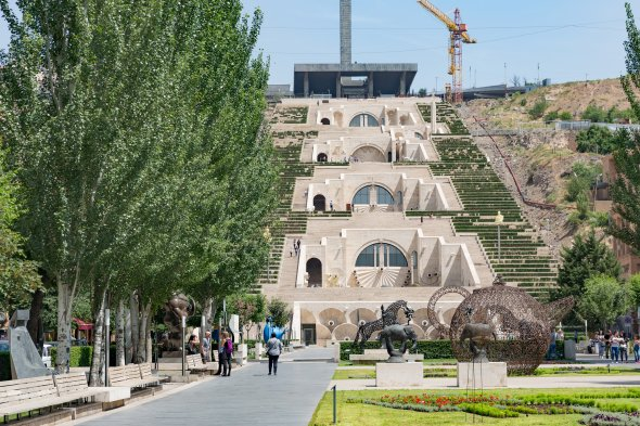 The Cascade in Yerevan/Jerevan