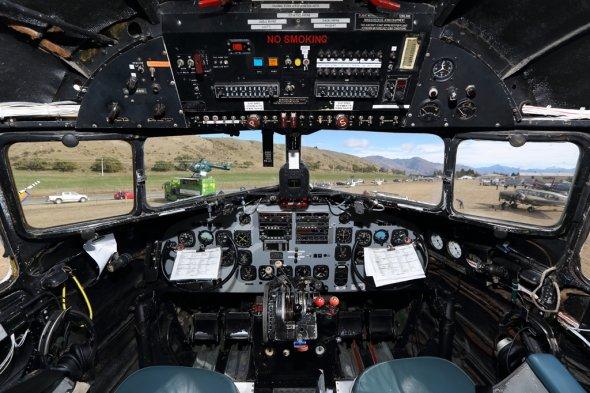 Das Cockpit der ZK-AWP.  Foto: Air Chathams