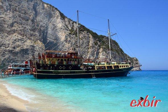 Ausflugsboot in Griechenland. Foto: Maskos
