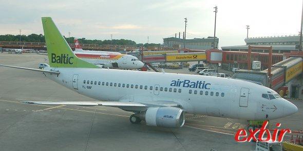 Sommerflüge der Air Baltic.  Foto: Christian Maskos