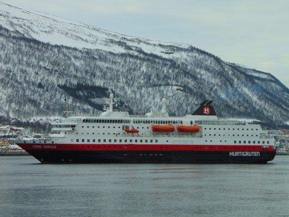 Die vielleicht schönste Schiffsroute der Welt: Die Hurtigruten.