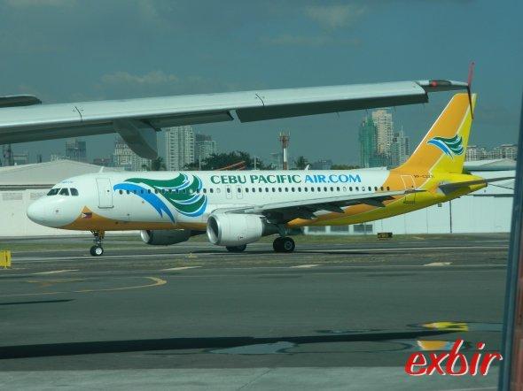 Cebu Pacific Air ist der größte Billigflieger auf den Philipinen.  Foto: Christian Maskos