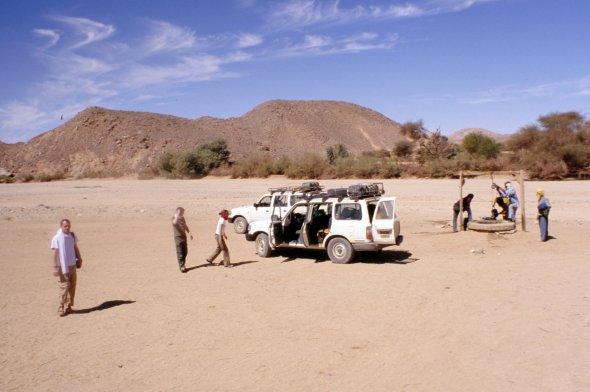 Ausflug in der Sahara, Algerien