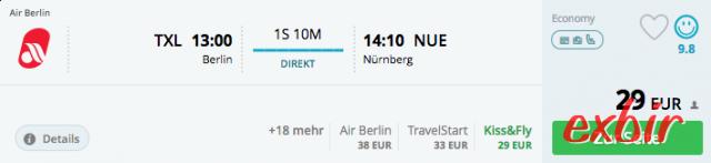 berlin nürnberg flug