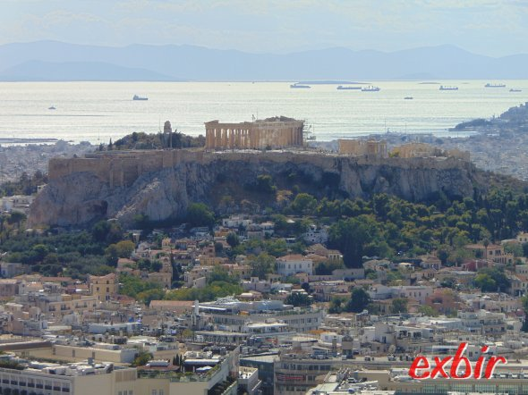 View on Plaka and Acropolis.  photo: Christian Maskos