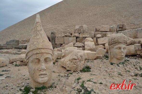 Nemrut ist nur 90 km vom Airport Adiyaman entfernt und ab 19€ erreichbar.  Foto: Christian Maskos