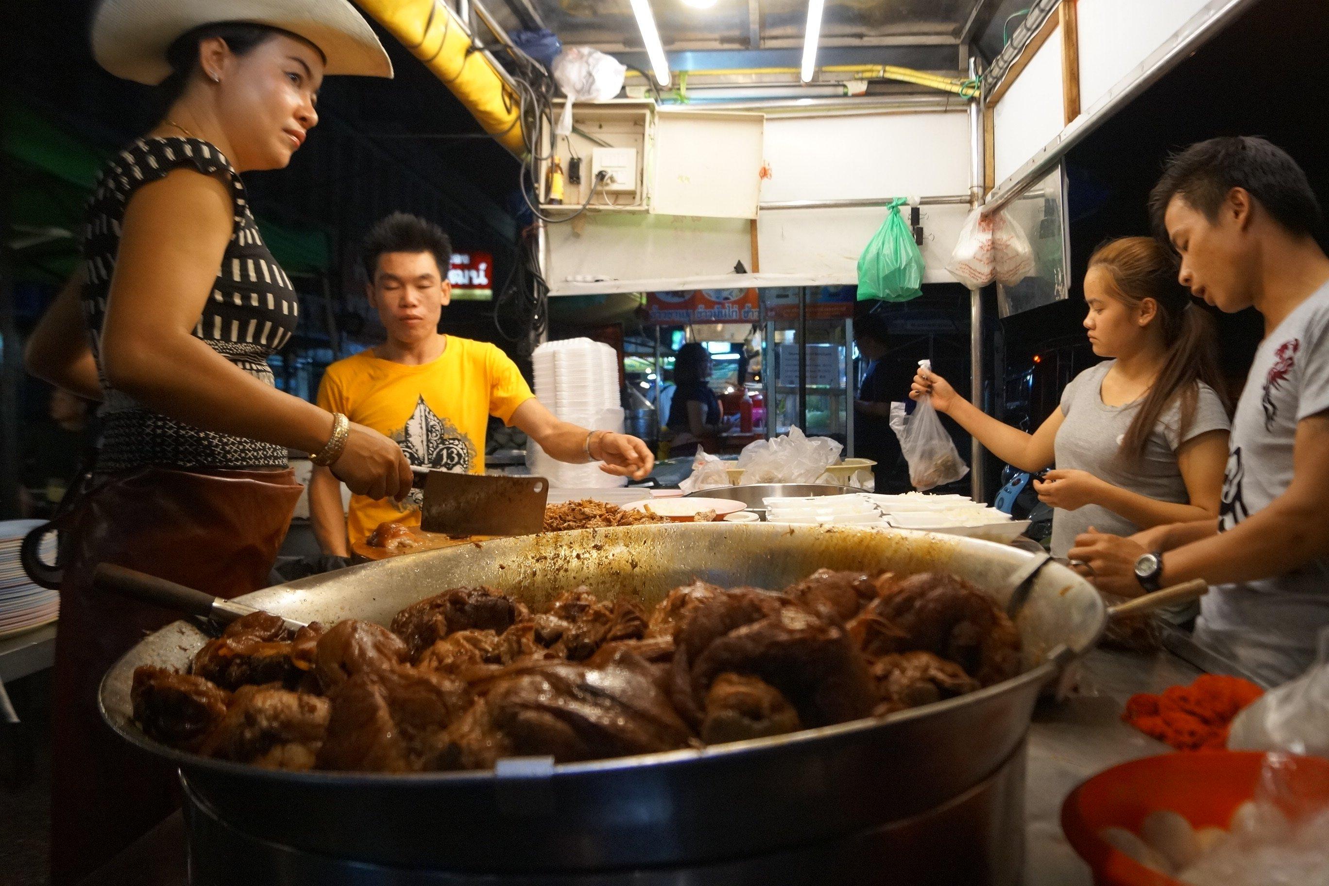 Garküche in Chiang Mai. Foto: Christian Maskos