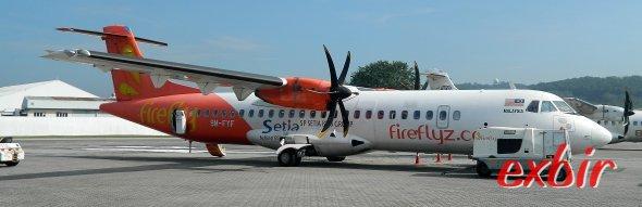 Günstig um die Welt: Firefly fliegt von Kuala Lumpur Subang günstig im Inland und nach Koh Samui.  Foto: Christian Maskos