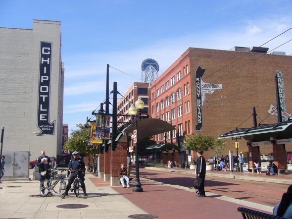 historic district - dallas, texas