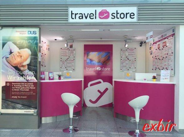 Der Travel-Store - unser zweites Partnereisebüro.  Foto: Christian Maskos