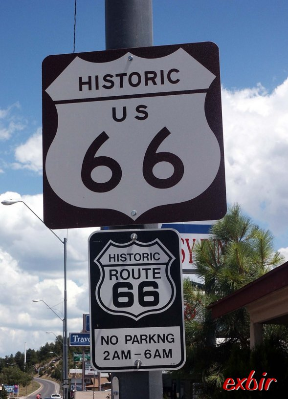 Die historische Route 66, hier in Williams in Arizona.  Foto: Christian Maskos