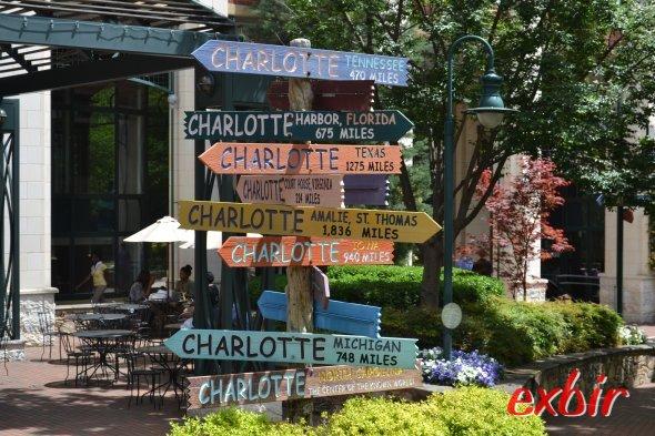 Downtown Charlotte. Foto: Christian Maskos