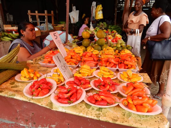 Paramaribo Markt.