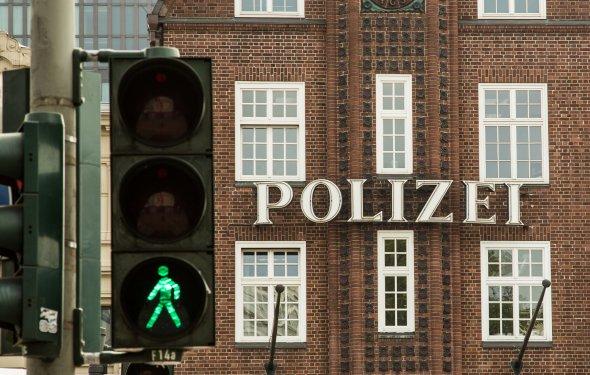 Die wohl berühmteste Polizeistation Deutschlands, die Davidwache auf der Reeperbahn