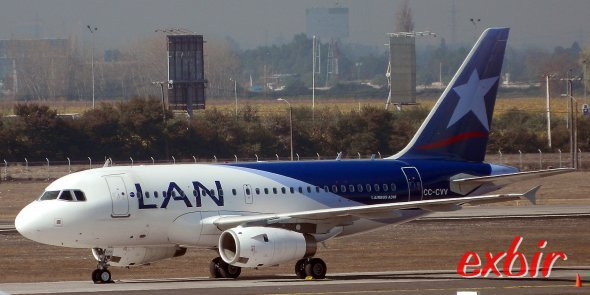 LAN (Argentina)  führt einige der Flüge auf diesem Trip durch.  Foto: Christian Maskos