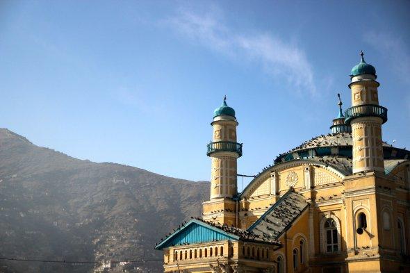 The Shamshira Mosque in Kabul.