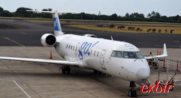 Mit dem Billigflieger um die Welt:  Go Air ist eine Budgetairline auf Hawaii  Foto: Christian Maskos
